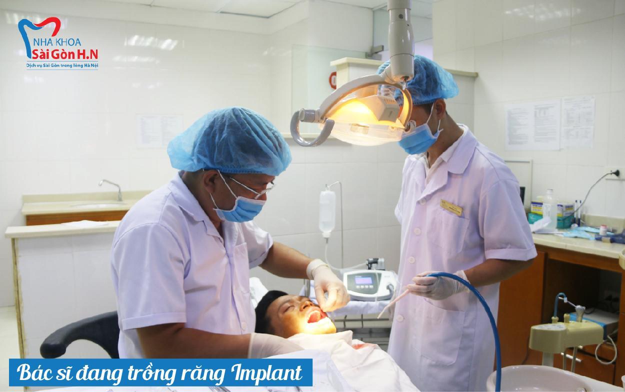 Nha khoa Sài Gòn H.N- địa chỉ trồng răng Implant uy tín
